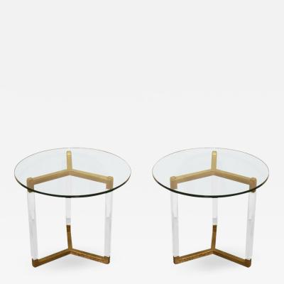 Charles Hollis Jones Charles Hollis Jones Tripod Side Tables from the Metric Collection