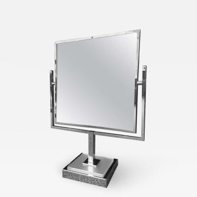 Charles Hollis Jones Charles Hollis Jones Vanity Mirror in Polished Chrome and Lucite