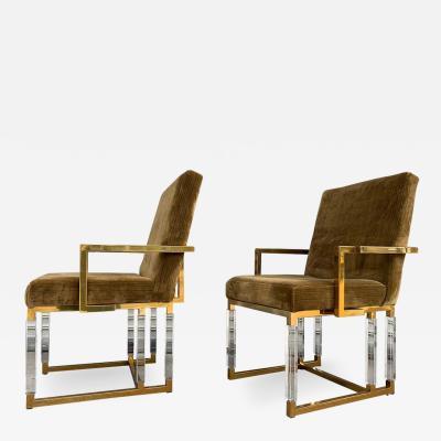 Charles Hollis Jones Pair of Metric Armchairs by Charles Hollis Jones