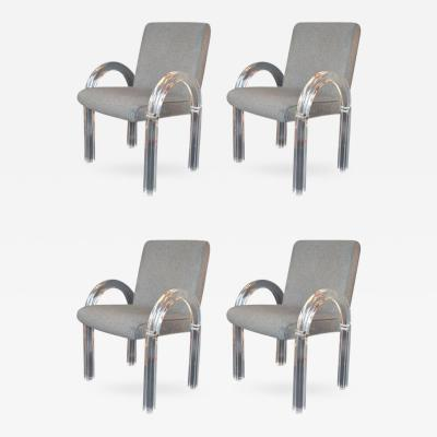 Charles Hollis Jones Set of Four Charles Hollis Jones Armchairs