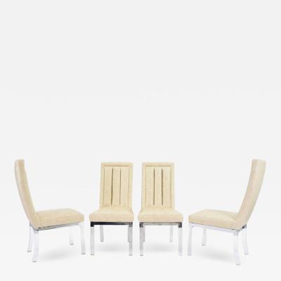 Charles Hollis Jones Set of Four Charles Hollis Jones Dining Chairs