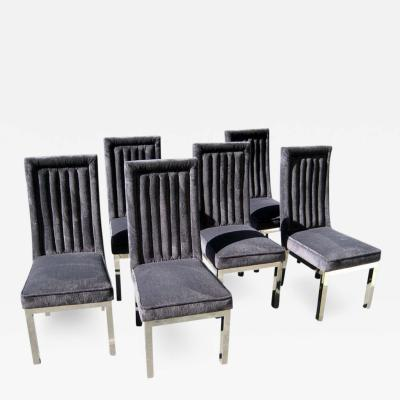 Charles Hollis Jones Set of Six Dining Chairs