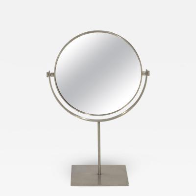 Charles Hollis Jones Stainless Steel Vanity Mirror