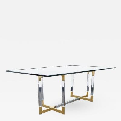 Charles Hollis Jones Vintage Metric Collection Dining Table by Charles Hollis Jones