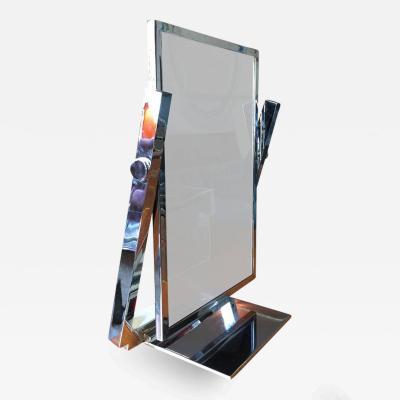 Charles Hollis Jones Vintage Vanity Mirror in Chrome by Charles Hollis Jones