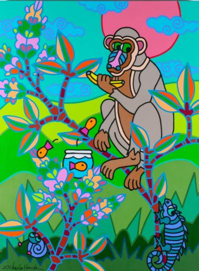 Charles Houska Chinoiserie Jungle Party