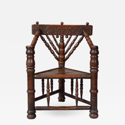 Charles I Three Legged Turners Chair