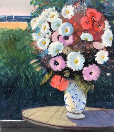 Charles Levier Fleurs sur la Plage