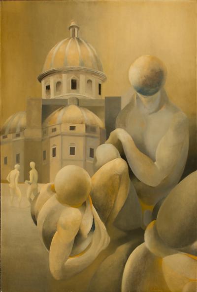 Charles Oscar Hypnerotomachia by American Artist Charles Oscar circa 1952