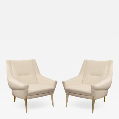Charles Ramos Pair of armchairs by Charles Ramos Castellanetta Edition 1950