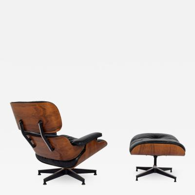Charles Ray Eames 670 671 Lounge and Ottoman by Charles Eames for Herman Miller 1970s