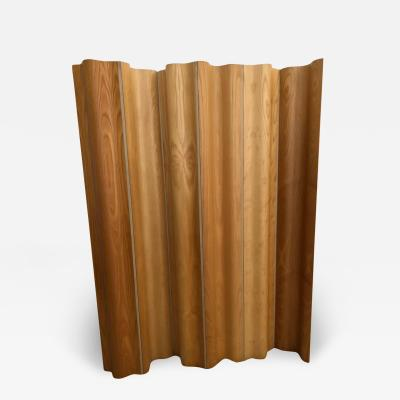 Charles Ray Eames Charles and Ray Eames Ash Birch Molded Plywood Folding Room Divider Screen