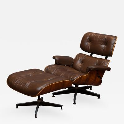Charles Ray Eames Charles and Ray Eames Lounge Chair and Ottoman