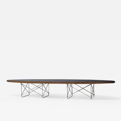 Charles Ray Eames Charles and Ray Eames for Herman Miller Surfboard Table ETR 1950s
