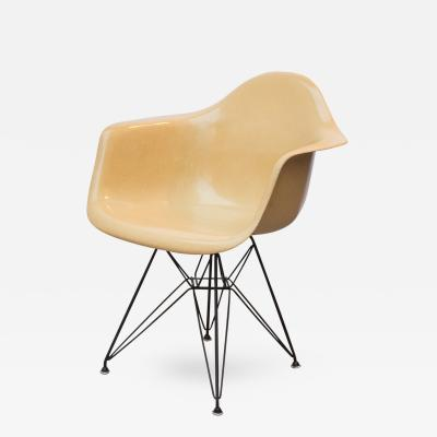 Ray and charles eames furniture Rocker Charles Ray Eames Eames Molded Fiberglass Armchair In Butterscotch Vitra Charles And Ray Eames Chairs Furniture Incollect