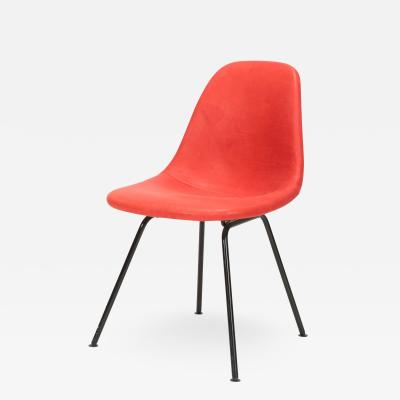 Charles Ray Eames Eames Side Chair Red Leather 60s