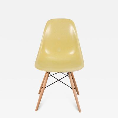 Charles Ray Eames Eames for Herman Miller Lemon Yellow Shell Chair