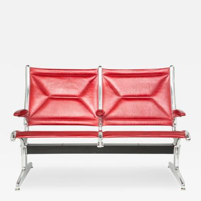 Charles Ray Eames Eames for Herman Miller Tandem Sling Two Seater Airport Bench ON SALE