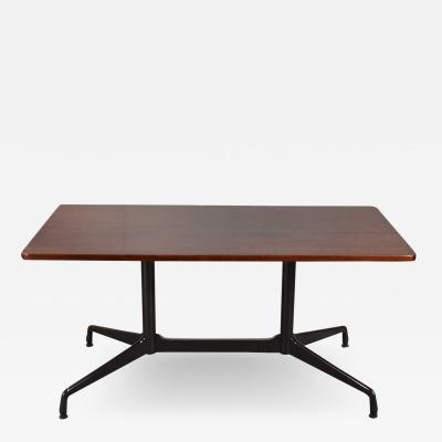 Charles Ray Eames Eames herman miller aluminum group conference or dining table rosewood black