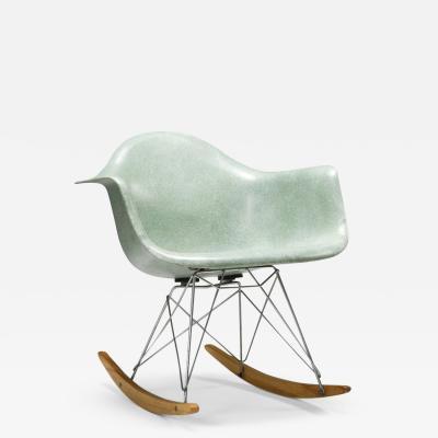 Charles Ray Eames Eames seafoam rocker 1954