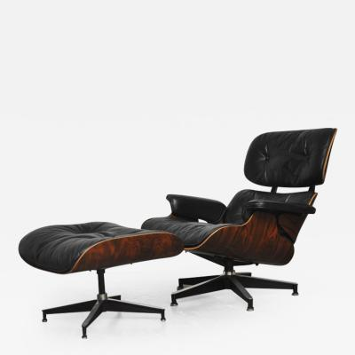 Charles Ray Eames Early Rosewood Charles Eames Lounge Chair for Herman Miller
