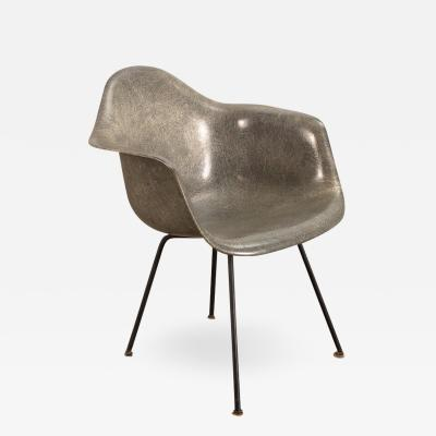 Charles Ray Eames Elephant Hide Gray Rope Edge Armchair by Eames Zenith