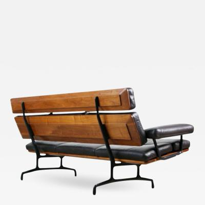 Charles Ray Eames First Year Production Three Seat Sofa by Charles Eames for Herman Miller 1984
