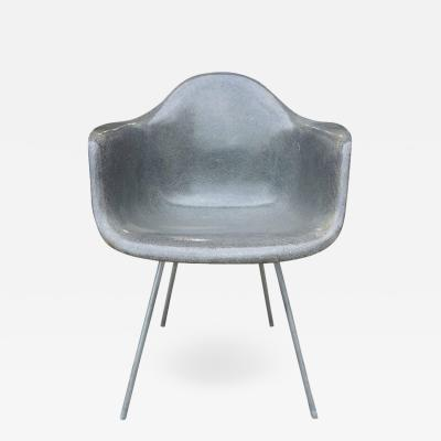 Charles Ray Eames Midcentury Eames for Herman Miller Fiberglass Armchair Rope Edge