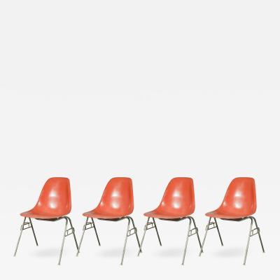 Charles Ray Eames Orange Eames Shell Chair