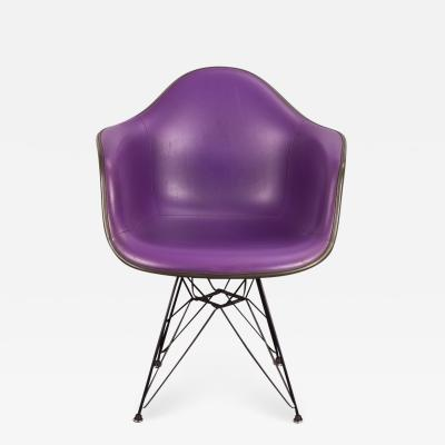 Charles Ray Eames Purple Eames Padded Armshell Chair