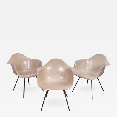 Charles Ray Eames Second Generation Greige Eames Armshell Chair