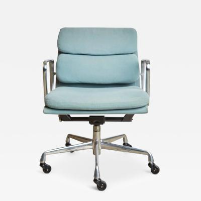 Charles Ray Eames Soft Pad Desk Chair by Charles Eames for Herman Miller 1987 Production Date