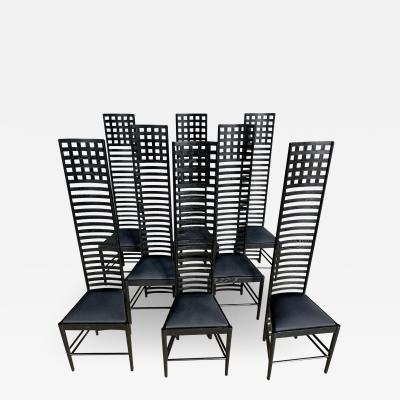 Charles Rennie Mackintosh Mid Century Modern Chairs after Charles Rennie Mackintosh 292 Hill House