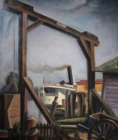 Charles Rosen Steamboat Landing