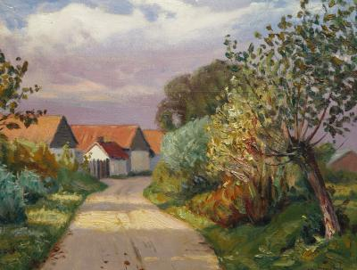 Charles Roussel Landscape near Rang du Fliers