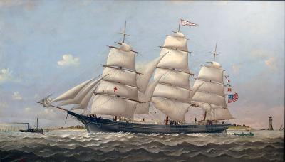 Charles Sidney Raleigh Ship LUCY G DOW