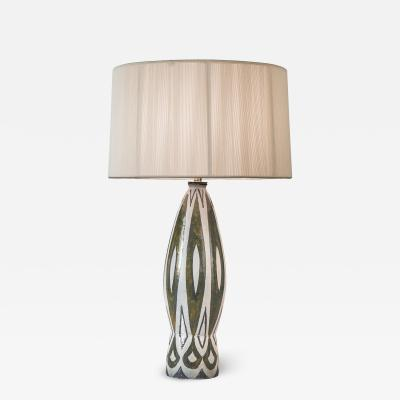 Charles Sucsan A Tall Canadian Glazed Lamp by Charles Susan