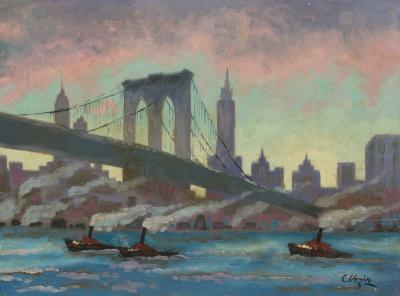 Charles Vezin Brooklyn Bridge