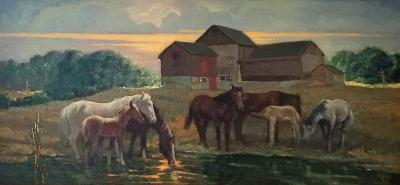 Charles W Jr Hargens Evening Bucks County PA