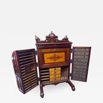 Charles Wooten 19th Century American Patented Wooten Desk with Provenance