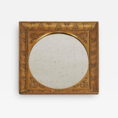 Charles X Style Neoclassical Giltwood Mirror