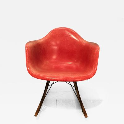 Charles and Ray Eames Charles Ray Eames for Herman Miller Rar Rocking Chair