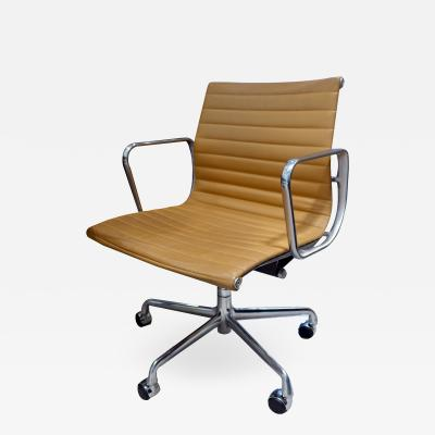 Charles and Ray Eames Leather Rolling Desk Chair