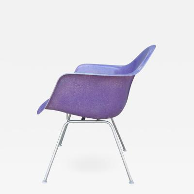 Charles and Ray Eames Mid Century Eames LAX Lounge Armchair in Rarest Purple Color