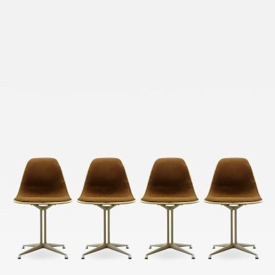 Charles and Ray Eames Set of Four Charles and Ray Eames La Fonda Chairs
