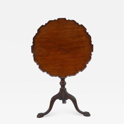 Charleston Chippendale Mahogany Tea Table circa 1765