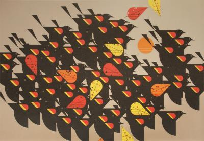 Charley Harper BIRDS OF A FEATHER