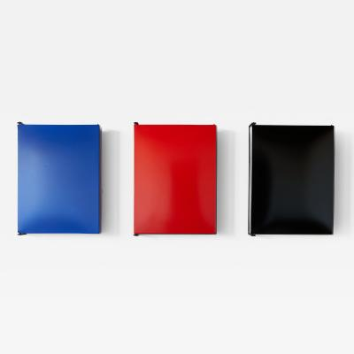 Charlotte Perriand CHARLOTTE PERRIAND ENAMELED STEEL WALL CABINETS