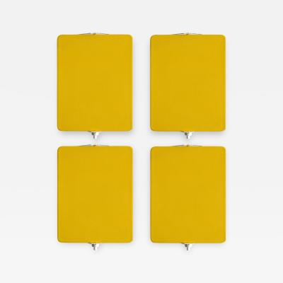 Charlotte Perriand CP 1 Wall Lights in Yellow by Charlotte Perriand