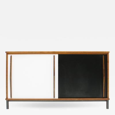 Charlotte Perriand Charlotte Perriand Lacquered Wood And Metal Cansado Sideboard France 70s